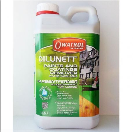 Owatrol Dilunett Paints and Coatings Remover - 2.5 litre